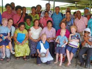 Albinism Workshop at Fiji School for the Blind 2014
