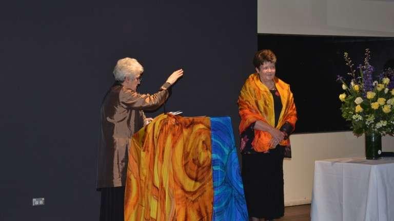 Maria Bongiorno IBVM at Margaret Marys Flynn's IBVM Farewell 2017