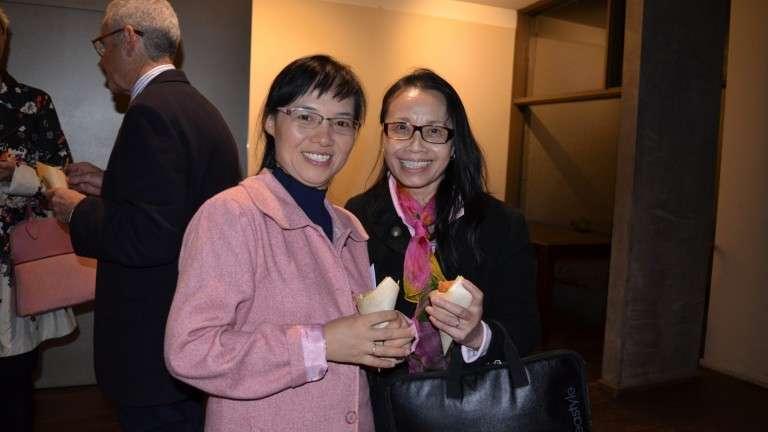 Pham Kim Thoa IBVM and Ha Thi Le IBVM attending  Margaret Mary Flynn's IBVM Farewell, 2017