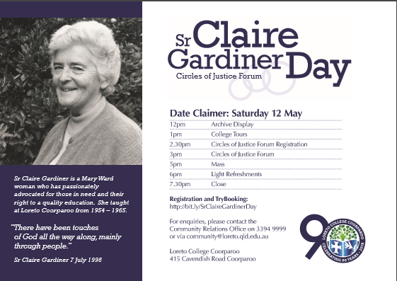Sister Claire Gardiner Day