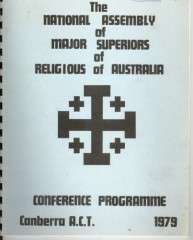 Records Relating to Major Superiors in Australia