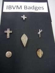 Loreto Badges/Emblems/School Badges/Holy Medals