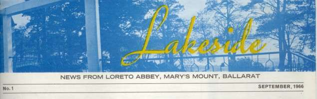 Lakeside, Loreto Abbey Mary's Mount Newsletter
