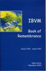 """""""IBVM Book of Remembrance"""" and Obituaries"""