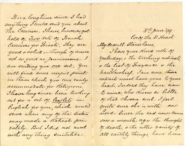 Letters of Early Sisters