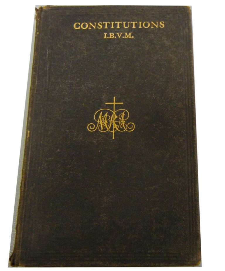 IBVM Constitutions, Rules and Customs